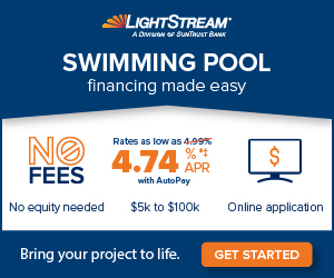 Pool financing through LightStream