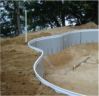 X-Brace® after backfill