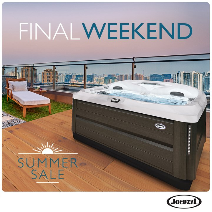 Jacuzzi Hot Tubs Summer Sale
